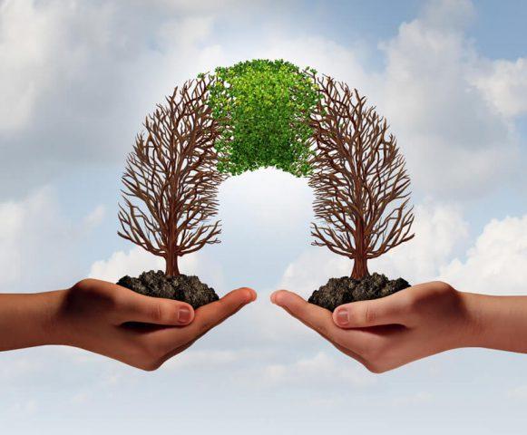 Uitwisselen grondstoffen, energie en ideeën met andere sectoren